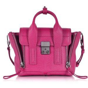 Philip Lim Mini Pashli Satchel Bag in Fuschia Pink